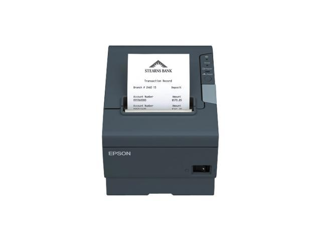 EPSON TM-T88V C31CA85A8700 Receipt Printer - Monochrome - Desktop