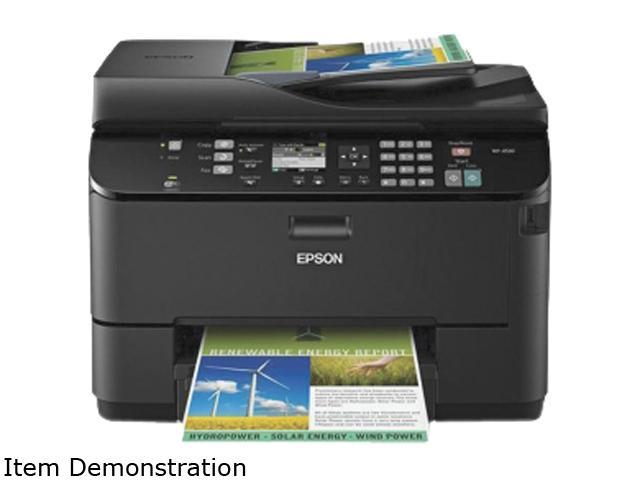 EPSON WP-4520 Up to 16 ppm Black Print Speed InkJet MFC / All-In-One Color Printer