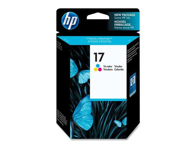 HP 17 Tri-color Inkjet Print Cartridge (C6625A)