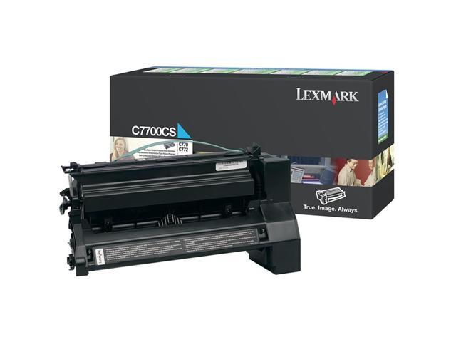 LEXMARK C7700CS Return Program Print Cartridge Cyan