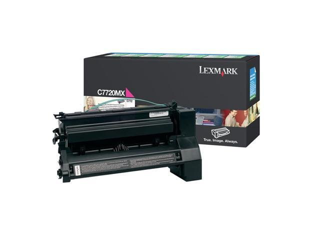 LEXMARK C7720MX Extra High Yield Return Program Print Cartridge For C772 Magenta