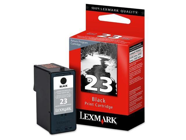 Lexmark 18C1523 #23 Black Return Program Print Cartridge for X3550, X4550,Z1420