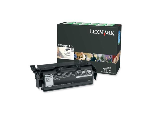 Lexmark (T650H11A) High Yield Return Program Print Cartridge; Black for T65x, T650