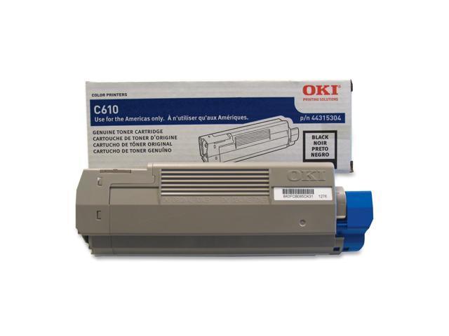 OKI 44315304 Toner Cartridge 8000 Page Yield Black