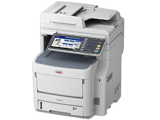 OkiData MC770 (62439401) Up to 37 ppm 1200 x 600 dpi USB/Ethernet Color Duplex Multifunction Laser Printer