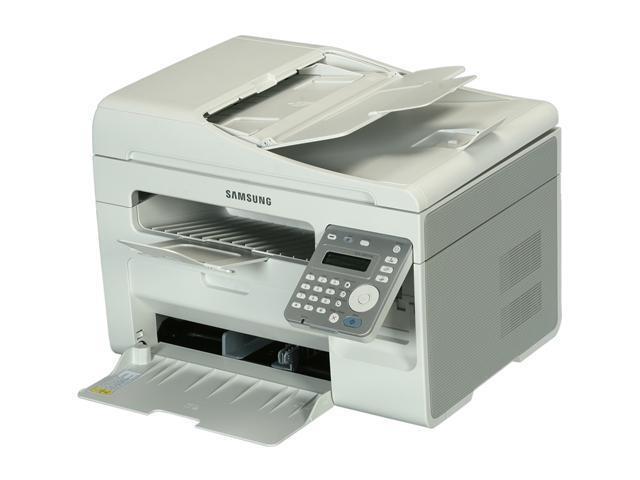 SAMSUNG SCX Series SCX-3405FW MFC / All-In-One Up to 21 ppm Monochrome Wireless 802.11b/g/n Laser Printer