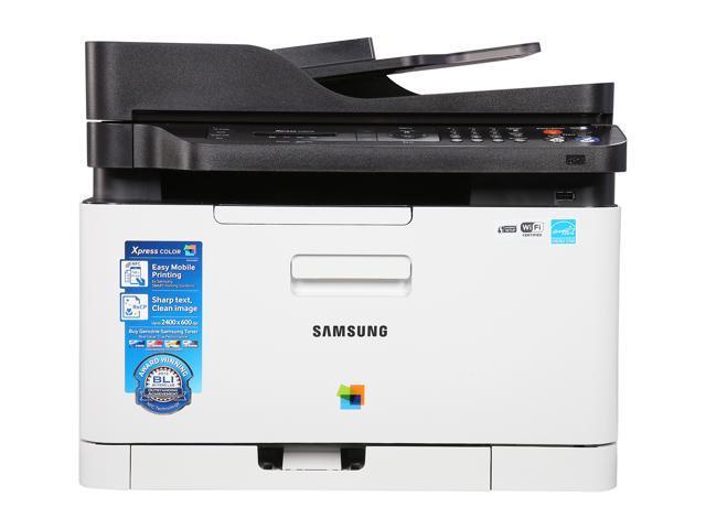 samsung xpress sl c480fw wireless multifunction color laser printer ebay. Black Bedroom Furniture Sets. Home Design Ideas