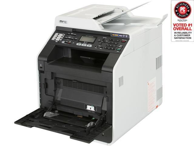 brother MFC-9460CDN Up to 25 ppm 2400 x 600 dpi Color Laser 4-in-One Printer with Networking and Duplex Printing