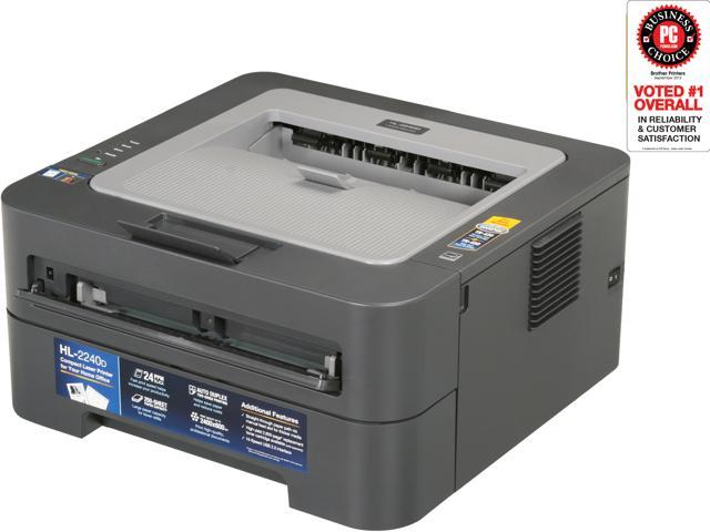 Brother HL-2240D Compact, Personal Laser Printer with Duplex