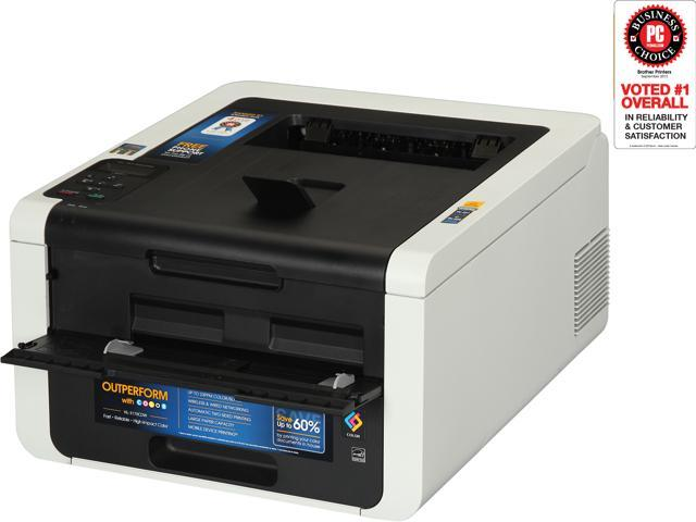 brother Hl-3170cdw Workgroup Up to 23 ppm 600 x 2400 dpi Color Print Quality Color Wireless 802.11b/g/n LED Printer