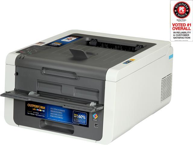 brother HL-3140cw Workgroup Up to 19 ppm 600 x 2400 dpi Color Print Quality Color Wireless 802.11b/g/n LED Printer