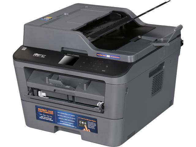 Brother MFC-L2740DW Wireless Monochrome Multifunction Laser Printer