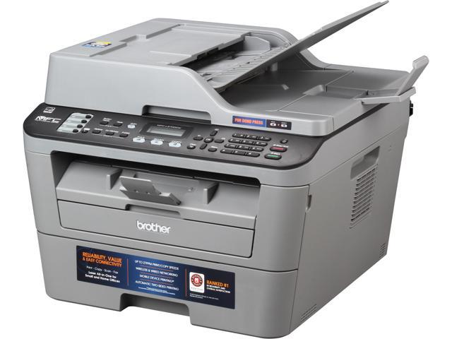 Brother MFC-L2700DW Wireless Monochrome Multifunction Laser Printer