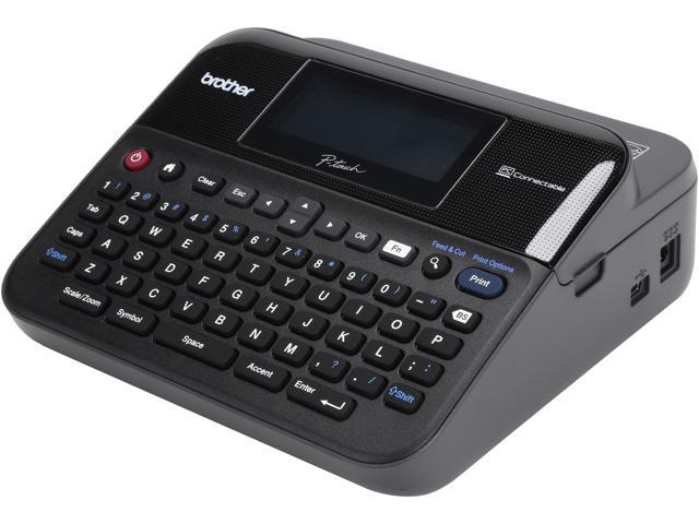 Brother P Touch Pt D600vp Pc Connectable Label Maker With