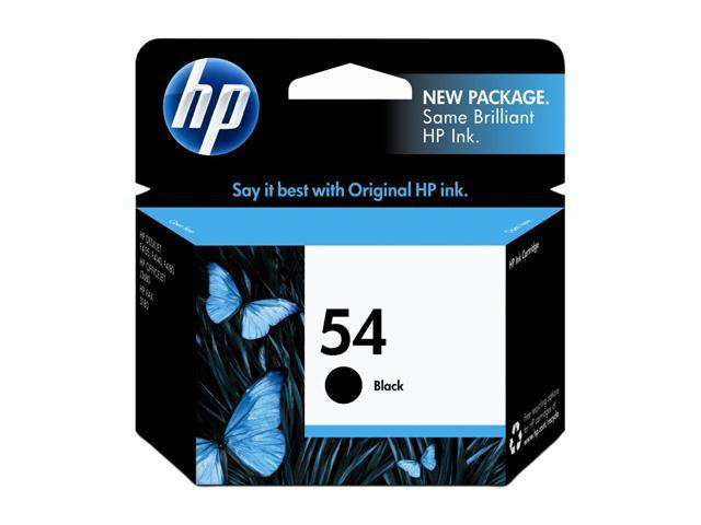HP 54 Black Inkjet Print Cartridge (CB334AN#140)