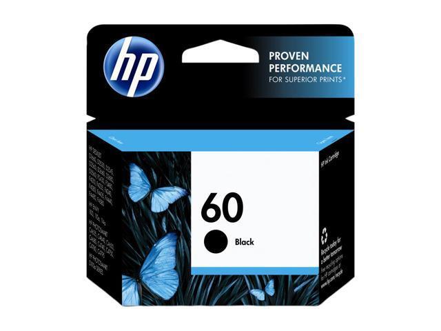 HP 60 Black Ink Cartridge (CC640WN#140)