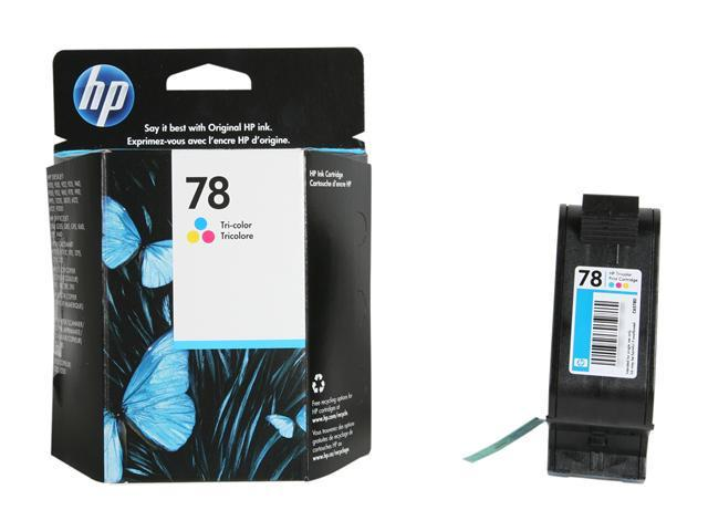 HP 78 Tri-color Ink Cartridge(C6578DN#140)