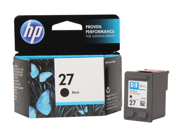 HP 27 Black Inkjet Print Cartridge (C8727AN#140)