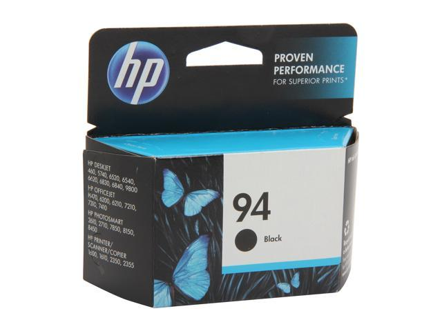 HP 94 Black Inkjet Print Cartridge (C8765WN#140)