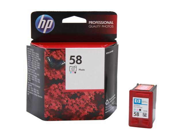 HP 58 Photo Color Ink Cartridge(C6658AN#140)