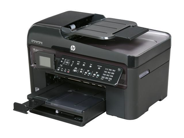 HP Photosmart Premium Fax CQ521A Up to 34 ppm Black Print Speed 9600 x 2400 dpi Color Print Quality Wireless Thermal Inkjet MFC / All-In-One ...