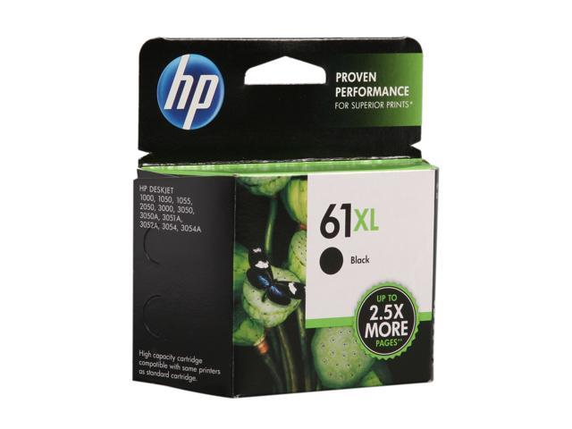 HP 61XL Black Ink Cartridge (CH563WN#140)