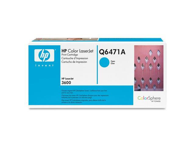HP Q6471AG Toner Cartridge Cyan