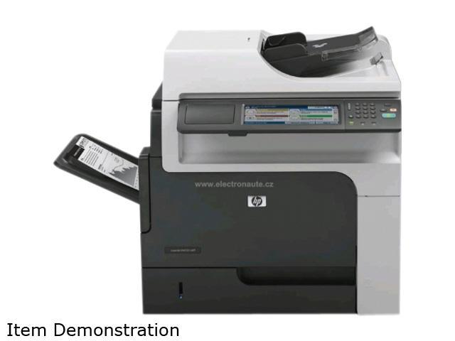 HP LaserJet Enterprise M4555h MFP Up to 55 ppm letter 1200 x 1200 dpi Color Print Quality Monochrome Laser Printer