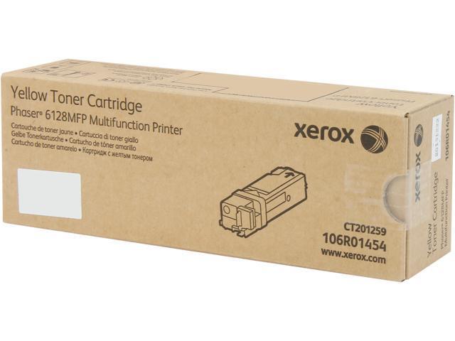 XEROX 106R01454 Toner Cartridge For Phaser 6128MFP; Yellow