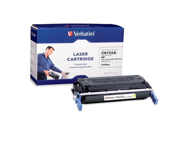 Verbatim 94957 Yellow HP C9722A Compatible Yellow Toner Cartridge