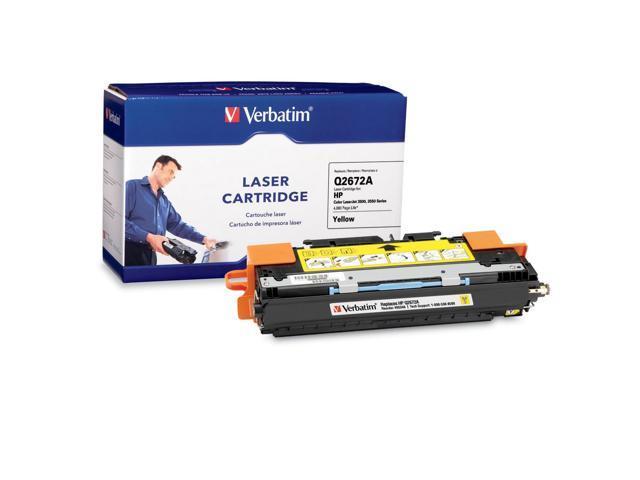 Verbatim 95346 Yellow Laser Cartridge for HP LaserJet 3500, 3550 Series