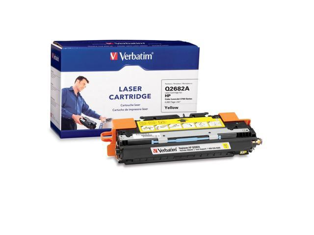 Verbatim 95349 Laser Cartridge for HP LaserJet 3700 Series Yellow