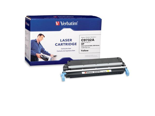 Verbatim 95354 Laser Cartridge for HP LaserJet 5500, 5550 Series Yellow