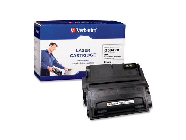 Verbatim 95382 Replacement Laser Cartridge for HP LaserJet 4250, 4350 Series