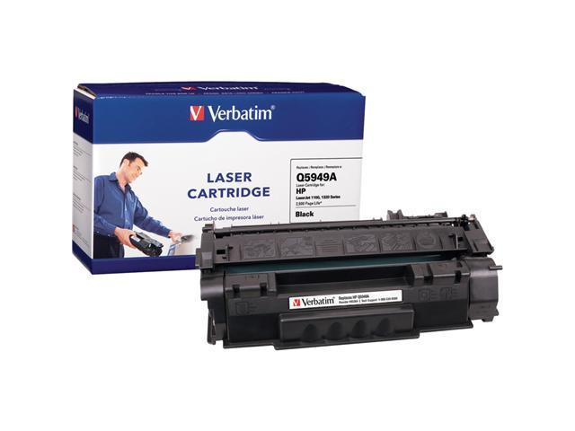Verbatim 95384 Black Replacement Laser Cartridge For HP LaserJet 1160, 1320 Series