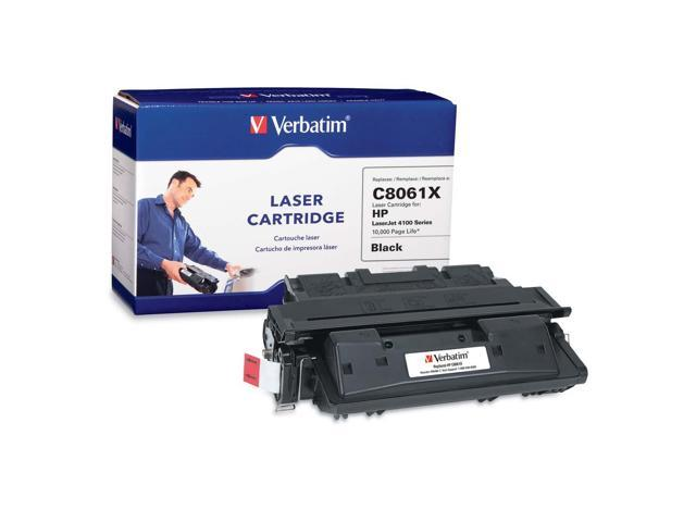 Verbatim 94464 Black Toner For HP LaserJet 4100 Series