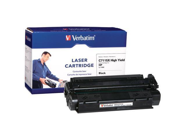 Verbatim 96005 Black Replacement High Yield Laser Cartridge