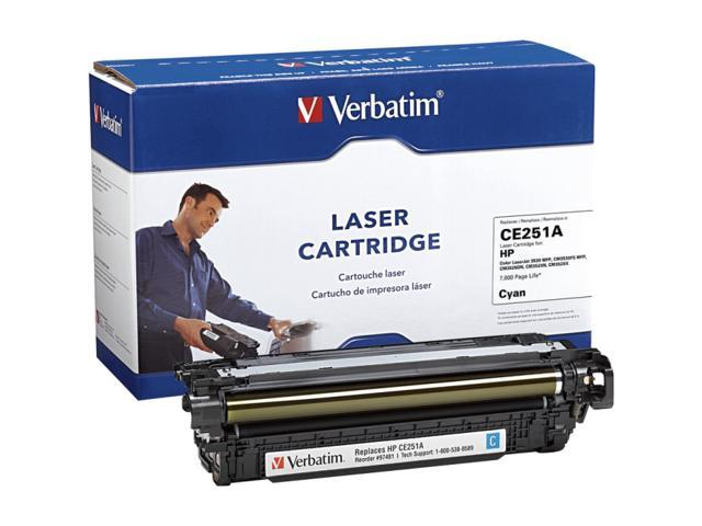 Verbatim HP CE251A Compatible Cyan Toner Cartridge
