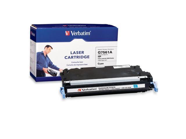 Verbatim HP Q7561A Compatible Cyan Toner Cartridge (3000)