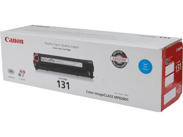 Canon 131 Toner Cartridge (6271B001); Cyan