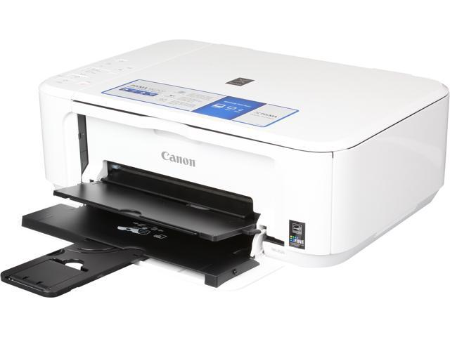 Canon PIXMA MG3520 (White) Wireless Color Multifunction Inkjet Printer
