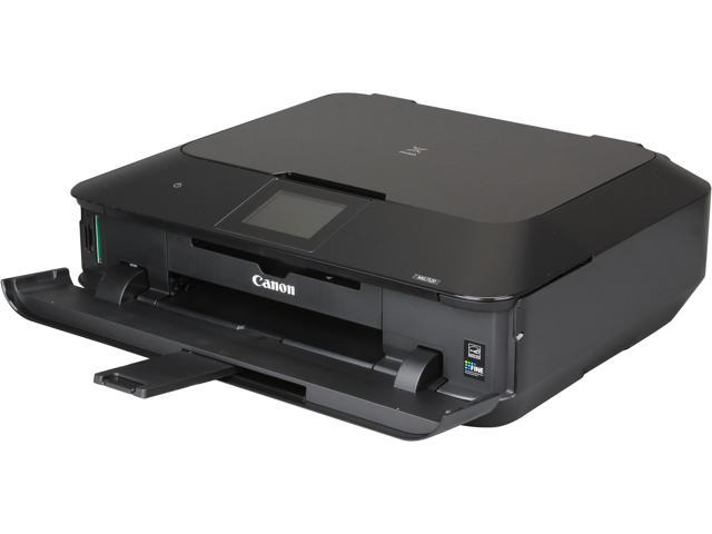 Canon PIXMA MG7120 ESAT: Approx. 15.0 ipm Black Print Speed 9600 x 2400 dpi Color Print Quality Wireless InkJet MFC / All-In-One Color Black ...