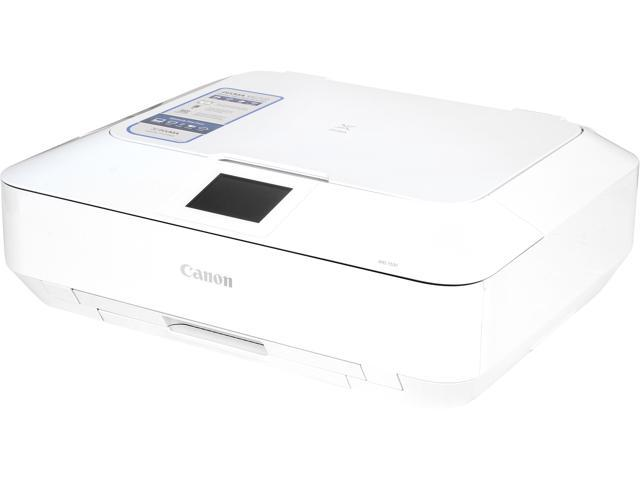 Canon PIXMA MG7120 ESAT: Approx. 15.0 ipm Black Print Speed 9600 x 2400 dpi Color Print Quality Wireless InkJet MFC / All-In-One Color White ...