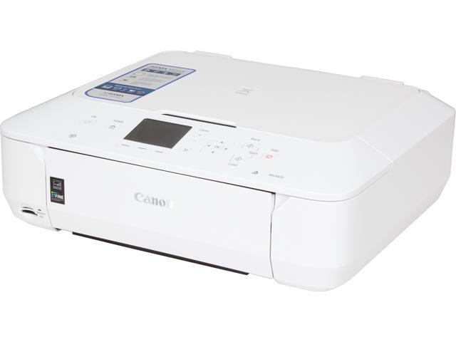 Canon PIXMA MG6420 (White) Wireless Color Multifunction Inkjet Printer