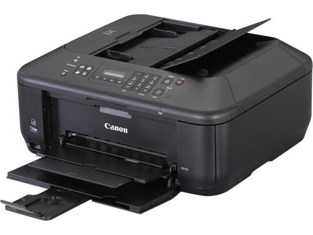 Canon PIXMA MX series MX532 9.7 ipm Black Print Speed 4800 x 1200 dpi Color Print Quality InkJet MFP Color Printer