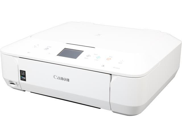 Canon PIXMA MG6620 (White) Wireless Color Multifunction Inkjet Printer