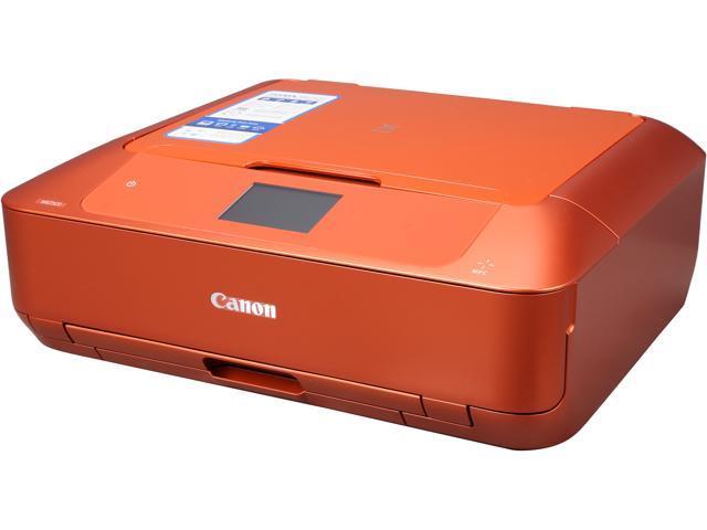 Canon PIXMA MG7520 (Orange) Wireless Color Multifunction Inkjet Printer
