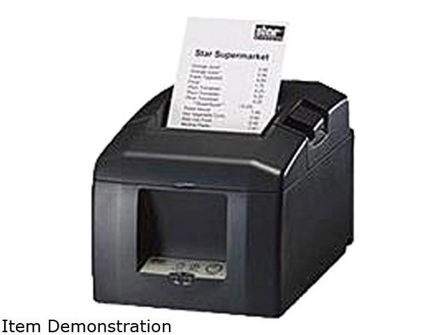 Star Micronics TSP650 TSP651D-24 GRY 39448410 Thermal Receipt Printer (Gray) - Serial Interface, Tear Bar. Cable and Power Supply not included