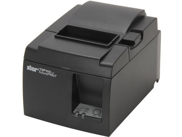 Star Micronics 39463110 TSP143LAN TSP100 futurePRNT Thermal Receipt Printer with Auto Cutter – Ethernet Interface (Gray)