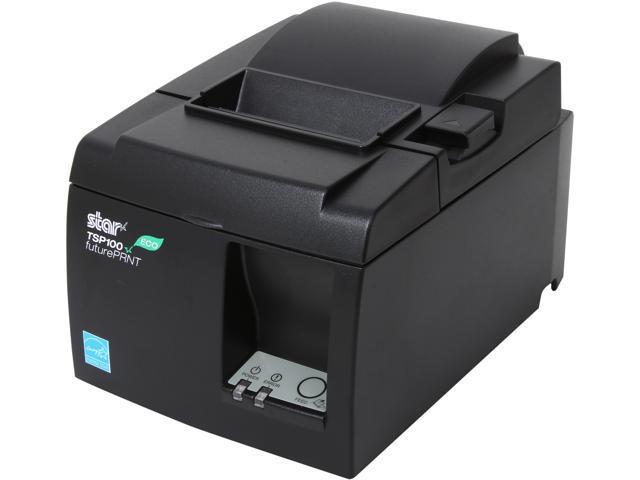Star Micronics 39464011 TSP143UII GRY US TSP100ECO Thermal Receipt Printer